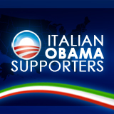 Obama Italian supporters